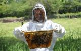 Kate Humble on the Sustainable Bee Keeping course at Kate Humble's Farm Humble By Nature
