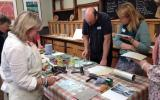 Learn to print Lino Landscapes with Lee Wright at Kate Humble's Farm in Monmouthshire, Humble by Nature