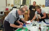 Graham Waddington teaching a Charcuterie course at Humble by Nature