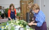 Floristry course and wedding flowers with Catherine Gray Flowers at Humble by Nature in S Wales