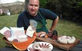 Graham Waddington tutor at Humble by Nature with a selection of his Charcuterie