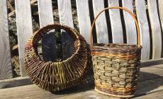 Weave a contemporary willow handbag