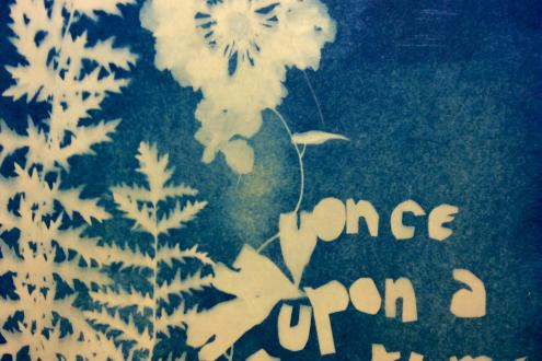 Learn cyanotype Victorian print making technique at Humble by Nature Kate Humble's farm in Monmouth South Wales