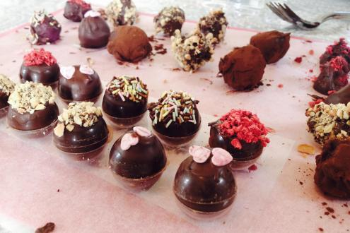 Make Chocolate Truffles at Humble by Nature